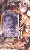 Return to Paris: A Memoir by Colette Rossant front cover