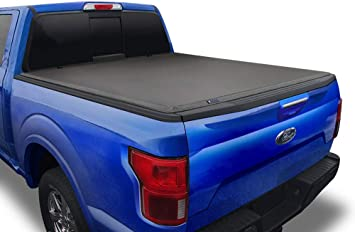 Amazon Com Tyger Auto T3 Soft Tri Fold Truck Bed Tonneau Cover For 2017 2020 Ford F 250 F 350 Super Duty Styleside 6 75 Bed Tg Bc3f1124 Black Automotive