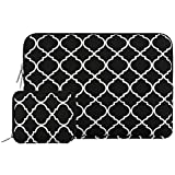 MOSISO Quatrefoil 15-15.6 Inch Laptop Sleeve Bag, Dark