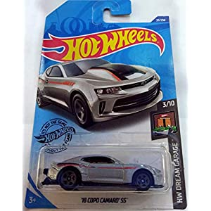 Hot Wheels 18 Copo Camaro...