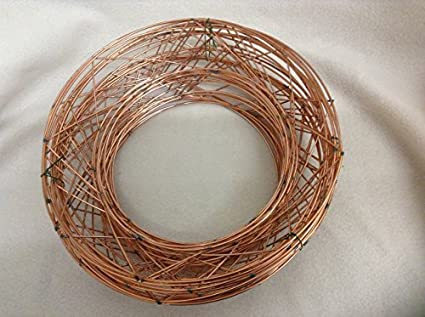"""8/"""" RAISED wire wreath round rings RAISED holly mossing  christmas frame choose"""
