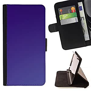 Momo Phone Case / Flip Funda de Cuero Case Cover - Simple Purple - Samsung Galaxy S3 III I9300