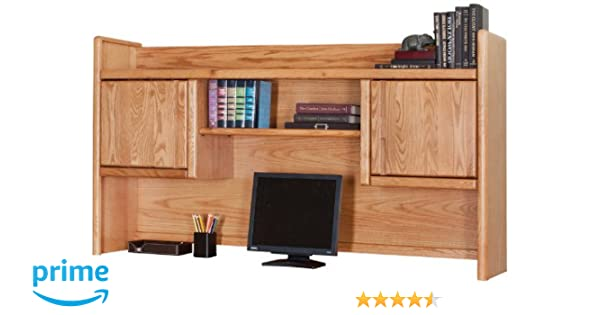 Amazon.com: Martin Furniture Contemporary Bookshelf Hutch, Fully Assembled:  Kitchen U0026 Dining
