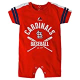 St Louis Cardinals Romper Infant Size 6-9 Months Red