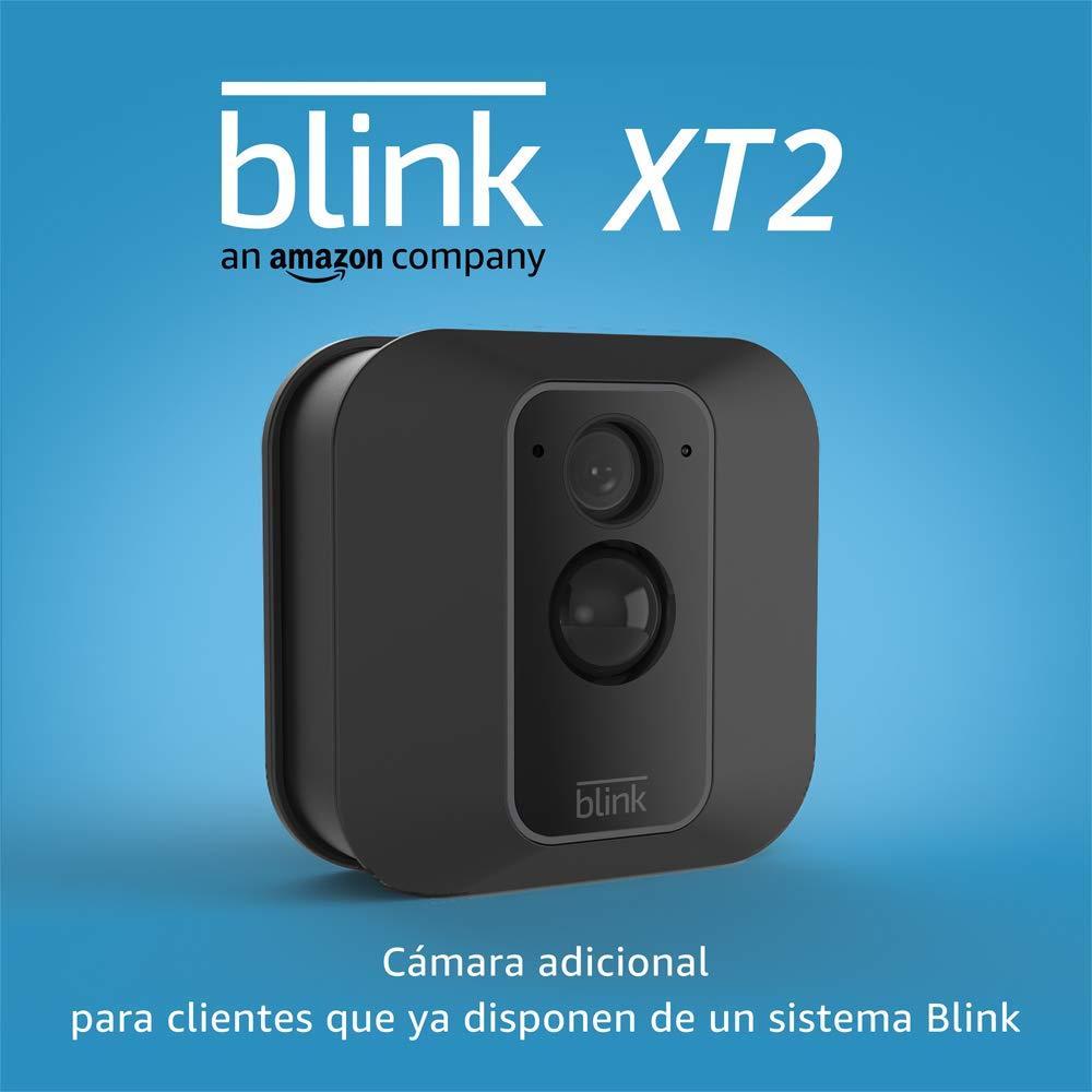 Blink XT2 | Cámara de seguridad inteligente, exteriores e interiores, almacenamiento en el Cloud, audio bidireccional, 2 años de autonomía | Cámara adicional para clientes con un sistema Blink