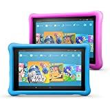 "All-New Fire HD 10 Kids Edition Tablet 2-pack, 10.1"" 1080p Full HD Display, 32 GB, Blue/Pink Kid-Proof Case"