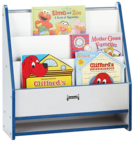 Rainbow Accents 0071JCWW008 Toddler Pick-A-Book Stand, Red