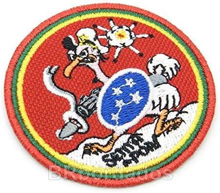 eml061 de febrero de Senta Pua Brasil 1 antena lucha escuadrón de febrero de Guerra segunda guerra mundial parche bordado hierro o coser