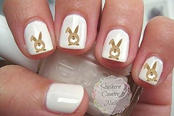Bunny Design Nail Art