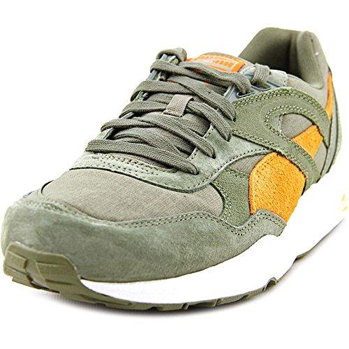 Price comparison product image Puma Men Trinomic R698 Street (olive / burnt olive / russet orange) (7.5,  olive / burnt olive / russet orange)
