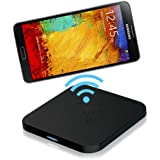 CHOETECH Qi Wireless Charger Kit for Galaxy Note III 3 N9000 N9005 with Full NFC Support,May not Compatible with OEM Flip-Case (Wireless Charging Pad and Wireless Charging Receiver Included)