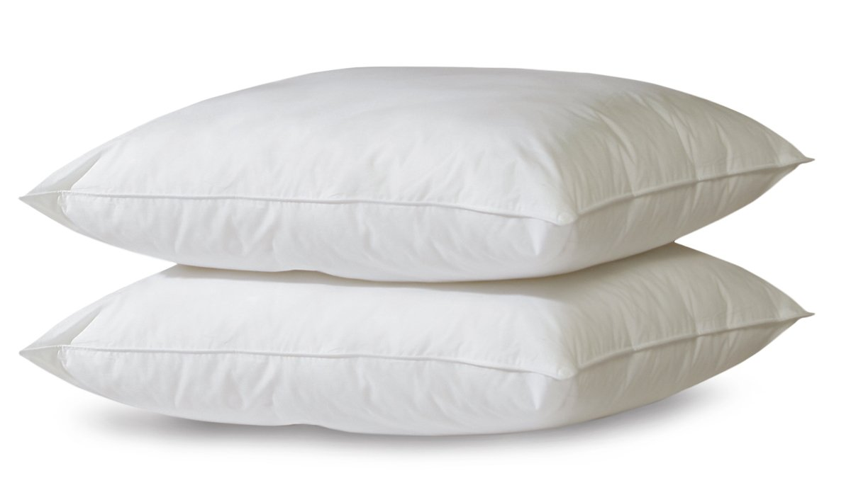 BioPEDIC 2-Pack Bed Pillows with Built-In Ultra-Fresh Anti-Odor Technology, Jumbo, White