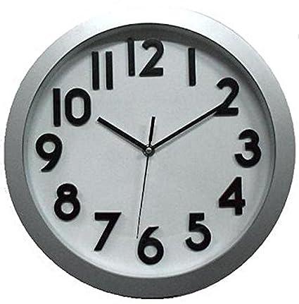 BERNAR - Reloj Cocina Modelo Plata Bernar 30 Cm