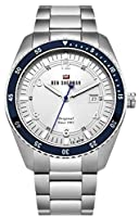 Ben Sherman Men's 'The Ronnie Sports' Quartz Stainless Steel Casual Watch, Color:Silver-Toned (Model: WBS107SM)