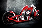 Athah Designs Wall Poster 13*19 inches Matte Finish Orange County Choppers