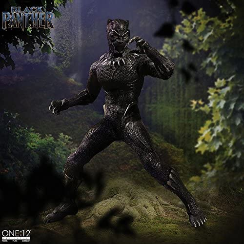 Mezco Black Panther One:12 Collective Figure Standard