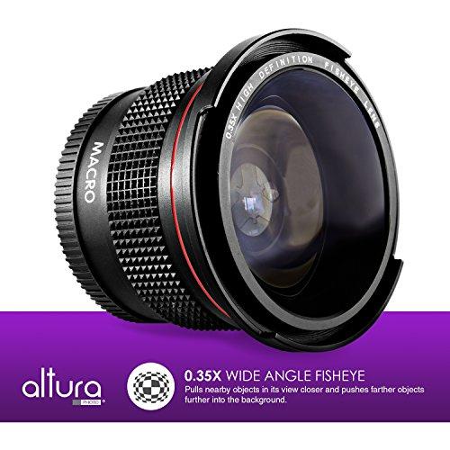 [해외]캐논 EOS REBEL 용 58MM Altura 포토 프로페셔널 렌즈 키트 (T6i T6 T6s T5i T5 T4i T3i T2i T1i XT XTi XSi)/58MM Altura Photo Professional L