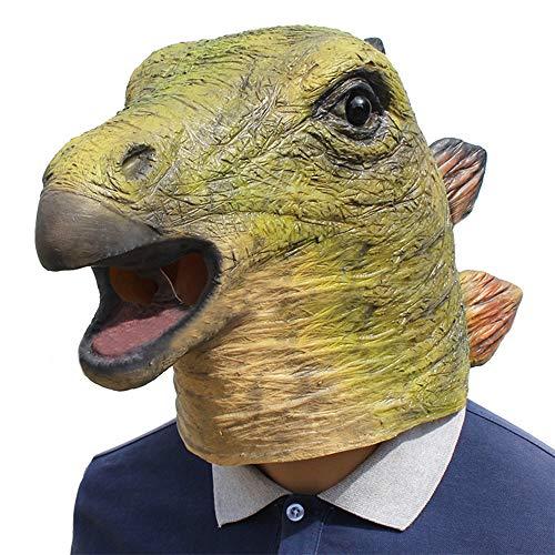 Nuoka Novelty Halloweeen Decorations Costume Cosplay Props Creepy Animal Mask Horror Scary Dinonsaur Mask (T-Rex Mask) ()