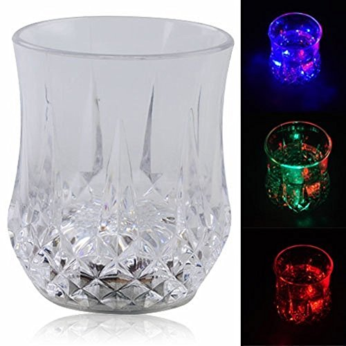 Pack of 6 Amazing LED Glowing Cup for Bar and Parties (KB-LED-CUPX6)]()