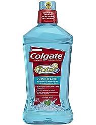Colgate Total for Gum Health Mouthwash, Clean Mint -...