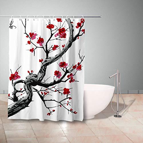 Delicious 3d Pretty Flowers 78 Shower Curtain Waterproof Fiber Bathroom Windows Toilet To Win Warm Praise From Customers Window Treatments & Hardware