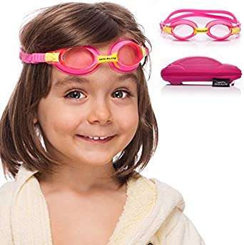 Kids-Goggles-for-Swimming-with-Fun-Car-Hard-Case-for-Kids-&-Toddlers-Age-2-8