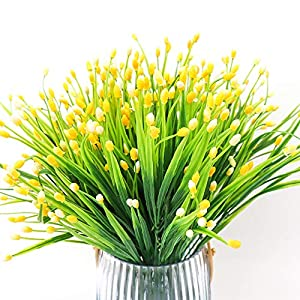 Yunuo 6PCS Mini Fruits Grasses Plants Artificial Flowers for Home Wedding Party Decor 5