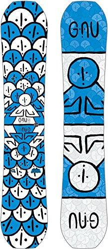 Gnu Forest Bailey Head Space Asym Snowboard Mens Sz 158cm