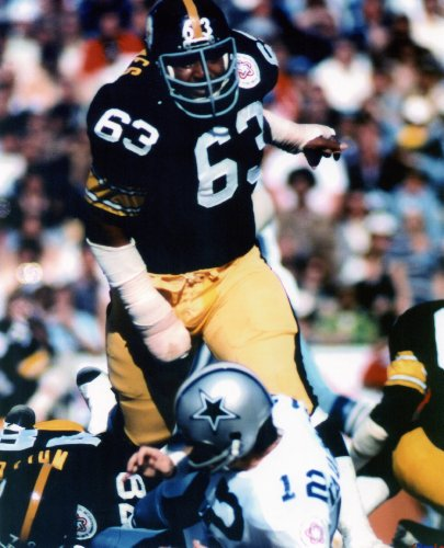 ERNIE HOLMES PITTSBURGH STEELERS 8X10 SPORTS ACTION PHOTO (I) (Ernie Steelers Holmes Pittsburgh)