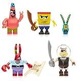 Mega Bloks  Spongebob Squarepants Pirate Figure Pack Building Playset