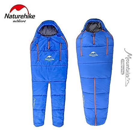 nh16r200-x Nevada saco de dormir humanoide con piernas separadas al aire libre Camping interior cálido algodón para cuatro estaciones tamaño pequeño, ...