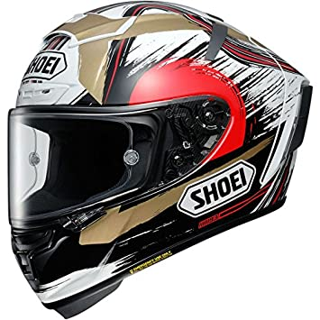 Shoei X-Spirit 3 Marquez II Motegi Motorcycle Helmet XL White (TC-1