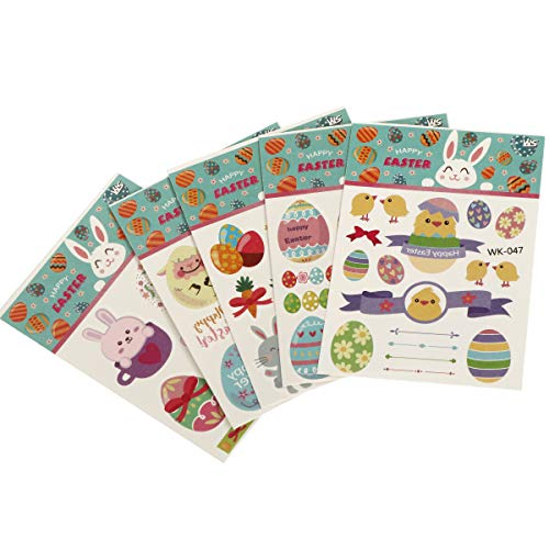 INVOKER Stickers for Kids & Toddlers Easter Theme