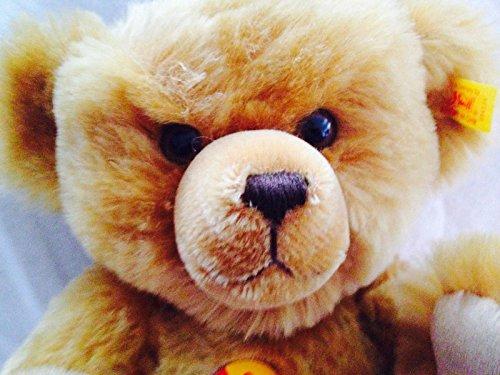 (Steiff Teddybär 33 cm mit Stimme squeaker 004124 Teddy bear Mohair)