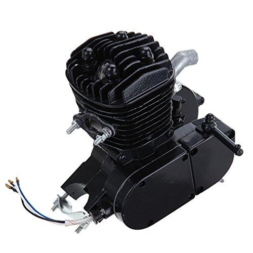 PanelTech 80cc 26'' 28'' 2-Stroke Gas Engine Motor for Motorized Road Bike Cruisers Mountain Bicycle