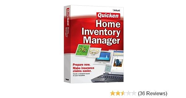Amazon.com: Quicken Home Inventory Manager