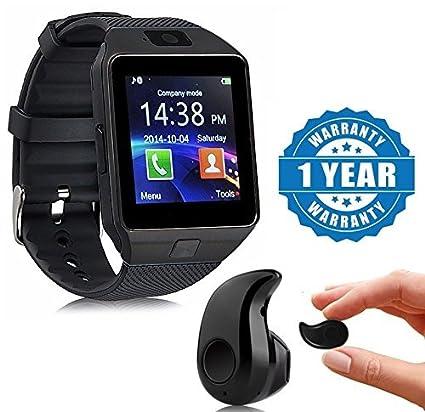 92d91b72406 Drumstone Black DZ09 Bluetooth Smart Watch With Camera