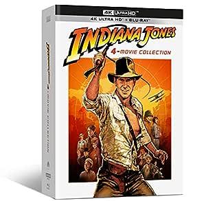 Indiana Jones 4-Movie Collect. ( Box 4 4k+4 Br+ Bonus Disc ) [Italia]