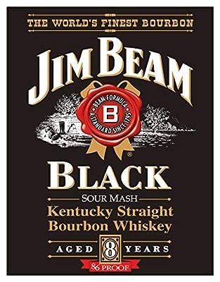 Desperate Enterprises Jim Beam Tin Signs
