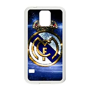 Samsung Galaxy S5 Cell Phone Case White Real Madrid Hfuu