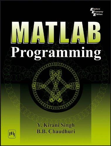 MATLAB PROGRAMMING [Kindle Edition]