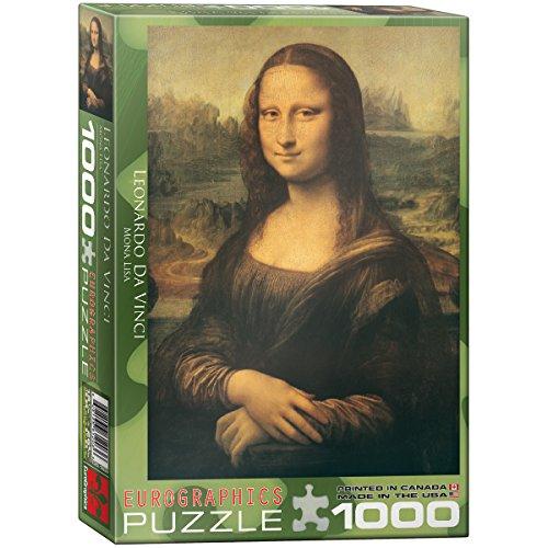 EuroGraphics Mona Lisa by Leonardo Da Vinci 1000 Piece Puzzle