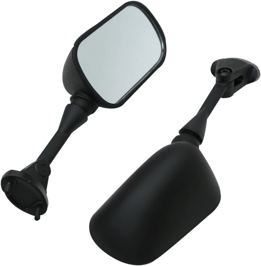 Fast Pro Motorcycle Black Side Rear View Mirror for Kawasaki ZX636 ZX6R ZX9R Ninja 650R ZX-10R ZZR 600 Motorbike Mirrors