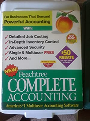 Peachtree Complete Accounting Release 6.0