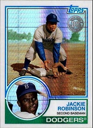 2016 Topps National Bowman Chrome Exclusive Refractor JACKIE ROBINSON Dodgers Verzamelkaarten, ruilkaarten