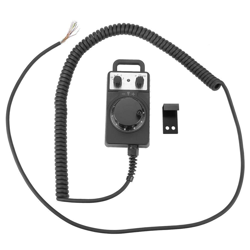 Akozon Volante electr/ónico Generador de pulso CNC Volante manual 5V 4 ejes Universal