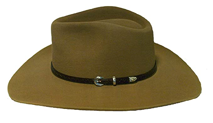 2e649930c4dcf Stetson Cowboy Hat 6X Carson South Point Color Sahara at Amazon ...