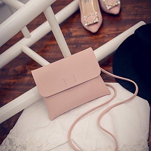Bolsos de moda bolso nuevo patrón lycra voltear sobre moda bolso bolso bolso, gris powder