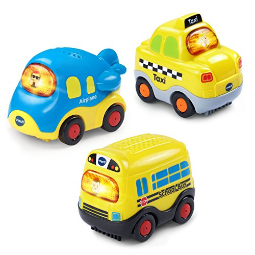 - VTech Go! Go! Smart Wheels Little Commuter Vehicles 3-Pack
