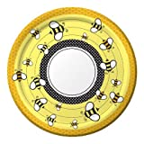 Bee Party Supplies: 10″ Paper Banquet Plates (8 ct), Health Care Stuffs